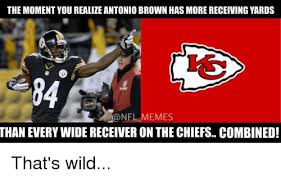 Antonio Brown Meme - the moment you realize antonio brown has more receiving yards nfl