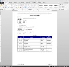 Lesson Plan Template For Word     simple lesson plan template     happytom co