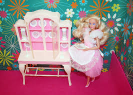 barbie dining room 1990 home pretty barbie in 1984 fashion dining room set 2 flickr