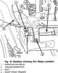 2005 jeep liberty radiator fan cooling fan relay jeepforum com
