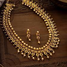 necklace designs images 1 gram gold antique finish belpan design classic collection long jpg