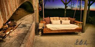 Daybed Porch Swing Buy A Custom Made R R Hanging Daybed Porch Swing Made To Order