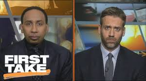 max kellerman u0027s first year on first take with stephen a smith espn