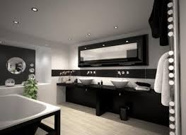 bathroom easy interior design ideas which you can bathroom contrasting interior design black vanities white fixtures painted walls