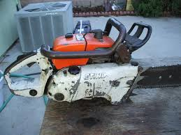 love the look of old chainsaws chain saws pinterest