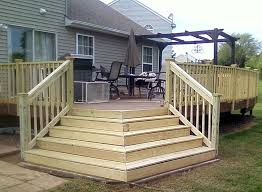 Corner Deck Stairs Design Corner Deck Stairs Design Pictures Of Handrail For Deck