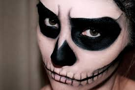 easy skull makeup halloween misscharlotte youtube