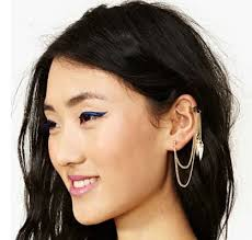 one ear earring cuff it fashion industry s news and fashionedits