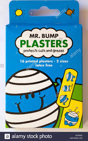 packet bump plasters stock photo royalty free image