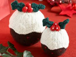 knit christmas christmas pudding pattern to get knitting for your home