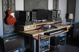 full size 88key studio desk for audio video music film