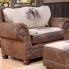 comfortable chair with ottoman best man cave chairs