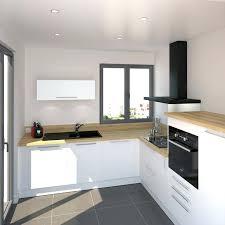 cuisine blanches cuisine bois et blanc laque moderne c3 aelot dosseret aspect laqu a9