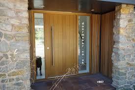 Oak Exterior Doors Contemporary Oak Door And Frame With Sidelights Front Door