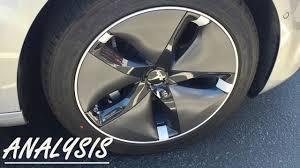 tesla model 3 alloy wheel analysis youtube