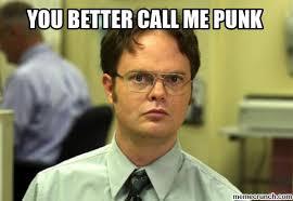 Call Me Meme - better call me punk