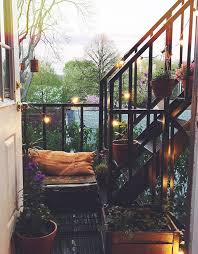 Exterior Unbelievable Design Balcony Lighting by Small Balcony In Paris Garden Plants Outdoor Rooms Pinterest