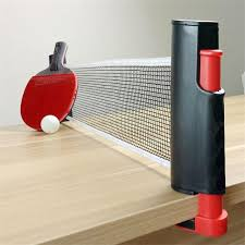 portable table tennis table leo table tennis net retractable and adjustable to most table sizes