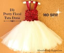 let u0027s make it lovely diy flower dress or tutu dress