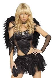 Black Raven Halloween Costume 64 Hair Show Images Costume Ideas Halloween