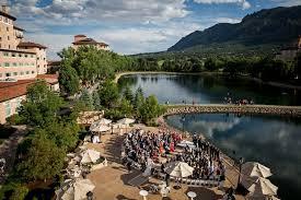 wedding venues in colorado springs the broadmoor wedding venue in colorado springs