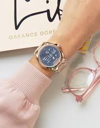 michael kors black friday 2017 michael kors rose gold bradshaw smart watch 2017 looks