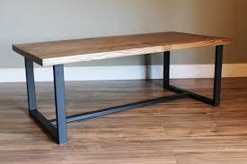 industrial modern rustic coffee table heartland rustics