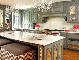 mirrored kitchen cabinets mirrored kitchen cabinet diy cabinets echoyogacoop com