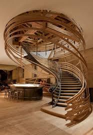 escalier peint en gris les 25 meilleures idées de la catégorie escalier bois sur