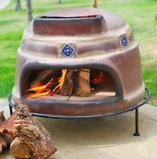 pizza oven smoker grill outdoor portable wood fired burning cooker