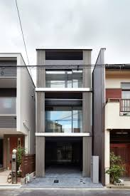 The Skinny House by Steel Chain Curtains Cover Skinny Osaka House By Fujiwaramuro