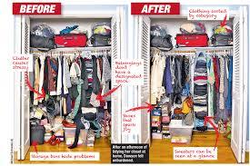 Home Network Closet Design by How U0027kondo Ing U0027 My Closet Brought Joy To My Life New York Post