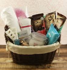 spa gift basket ideas s day spa gift basket with dove chocolate