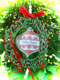 k sts to go with spellbinders heirloom ornament