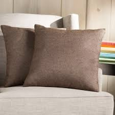 brown throw pillows you u0027ll love wayfair