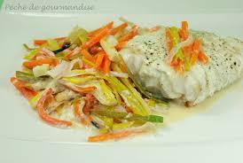 poisson facile à cuisiner filet de poisson à la julienne de légumes péché de gourmandise