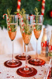 holiday champagne cocktails how to set up a holiday bar on a moment u0027s notice