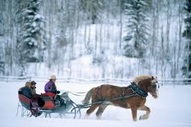 take a sleigh ride in utah