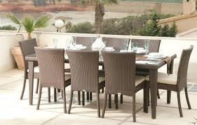 Wicker Dining Room Chairs Indoor Marvelous Ideas Rattan Dining Table Fancy Plush Design Rattan And