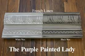 the purple painted lady two coats of french linen chalk paint