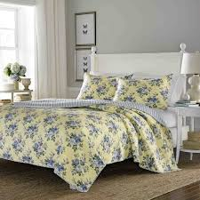 Laura Ashley Twin Comforter Sets Laura Ashley Home Linley 100 Cotton Reversible Quilt Set By Laura