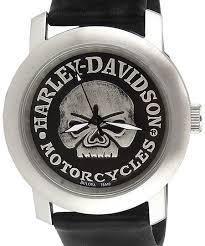 bulova harley davidson motorcycles skull 76a10