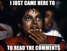 Mj Meme - mj popcorn memes i m just here for comments