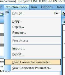 import excel parameter test con en