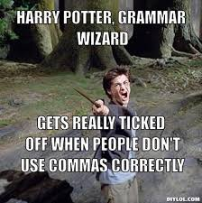 Correct Grammar Meme - piseed off harry meme generator harry potter grammar wizard gets