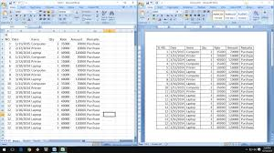 how to exact copy u0026 paste excel data into word table youtube