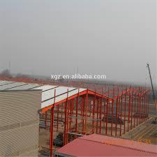 steel structure fabrication prefab steel farm warehouse light