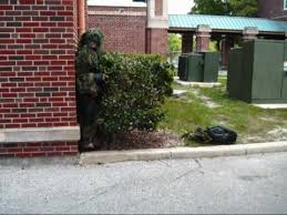 Ghillie Suit Halloween Costume Aaptv Ghillie Suit Prank Scares Hhs
