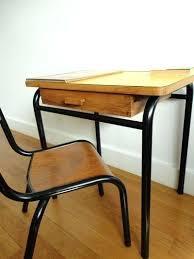 Bureau Vintage Enfant Bureau Ecolier Formica Jaune Bureau Enfant Bureau Vintage