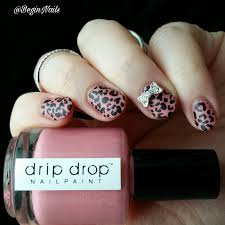 guest post by beginnails pink leopard nail art be happy and buy